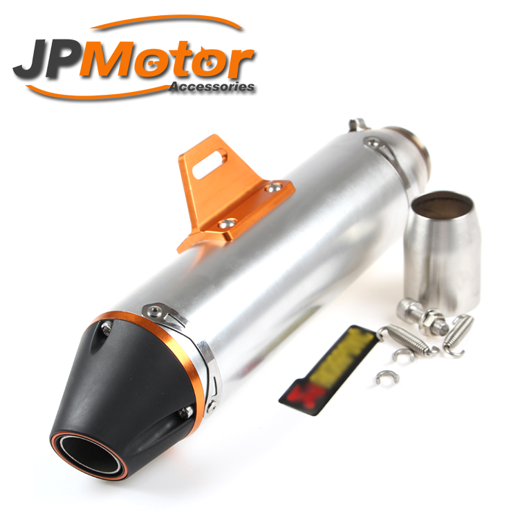 JPMotor - 51mm cnc aluminum motorcycle exhaust for crf230 cqr250
