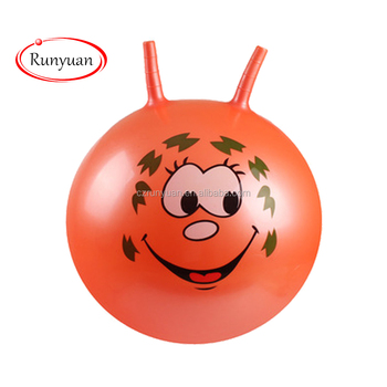 RUNYUAN 2018 NEW Inflatable Hopping Customized Toy Ball for Children Playing with High Quality,OEM Toy Manufacturer