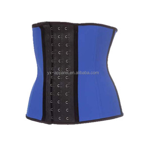 body slimming shapewear colombian latex waist trainer latex shapers with latex hook