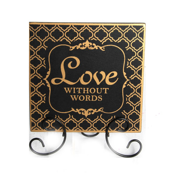 Wooden Decorative Plaques Stand With Sayings Home Decor Wholesale