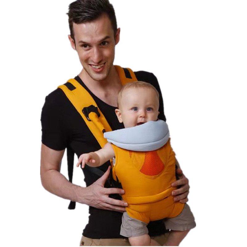 Manufacturers Ergonomic Adult Soft Cotton Hipseat Back Backpack Sling Woven Wrap Bebear Baby Carrier for Newborns