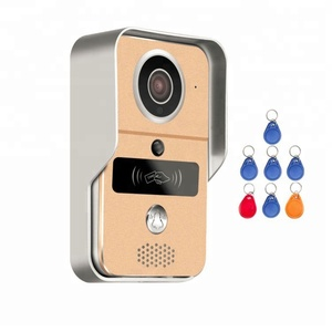 Day/Night TCP/IP 720P H.264 smart IP video doorbell/ WiFi doorbell with MicroSD fully Duplex Intercom, IR CUT