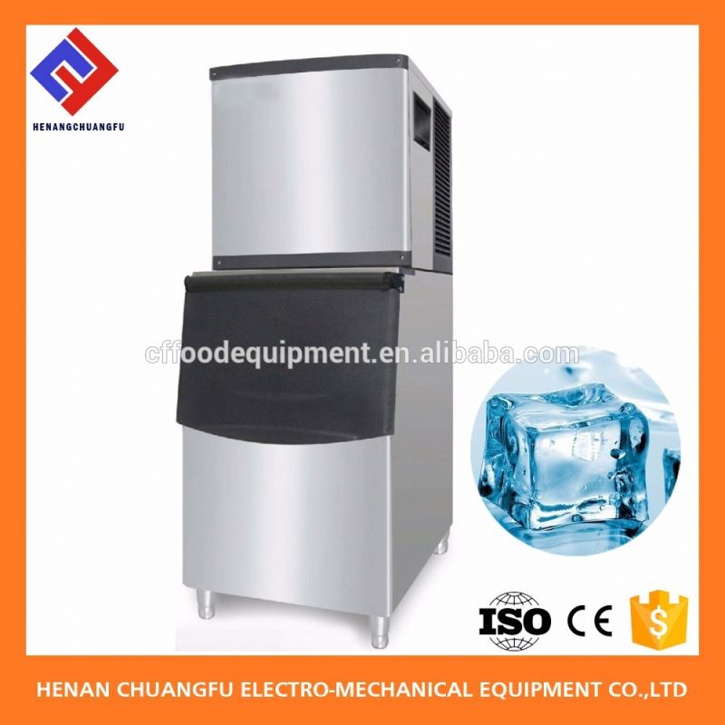 Clear mini ice block maker machine