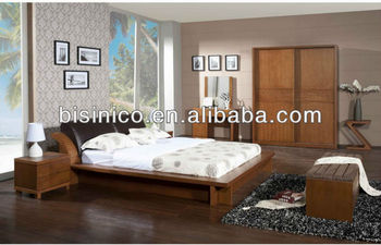 Contemporary Bedroom Solid Wooden Furniture,Casual Box Bed,Malaysia Bedroom  Natural Solid Wood Bed,Home Bedroom Furniture Set, View high end solid ...