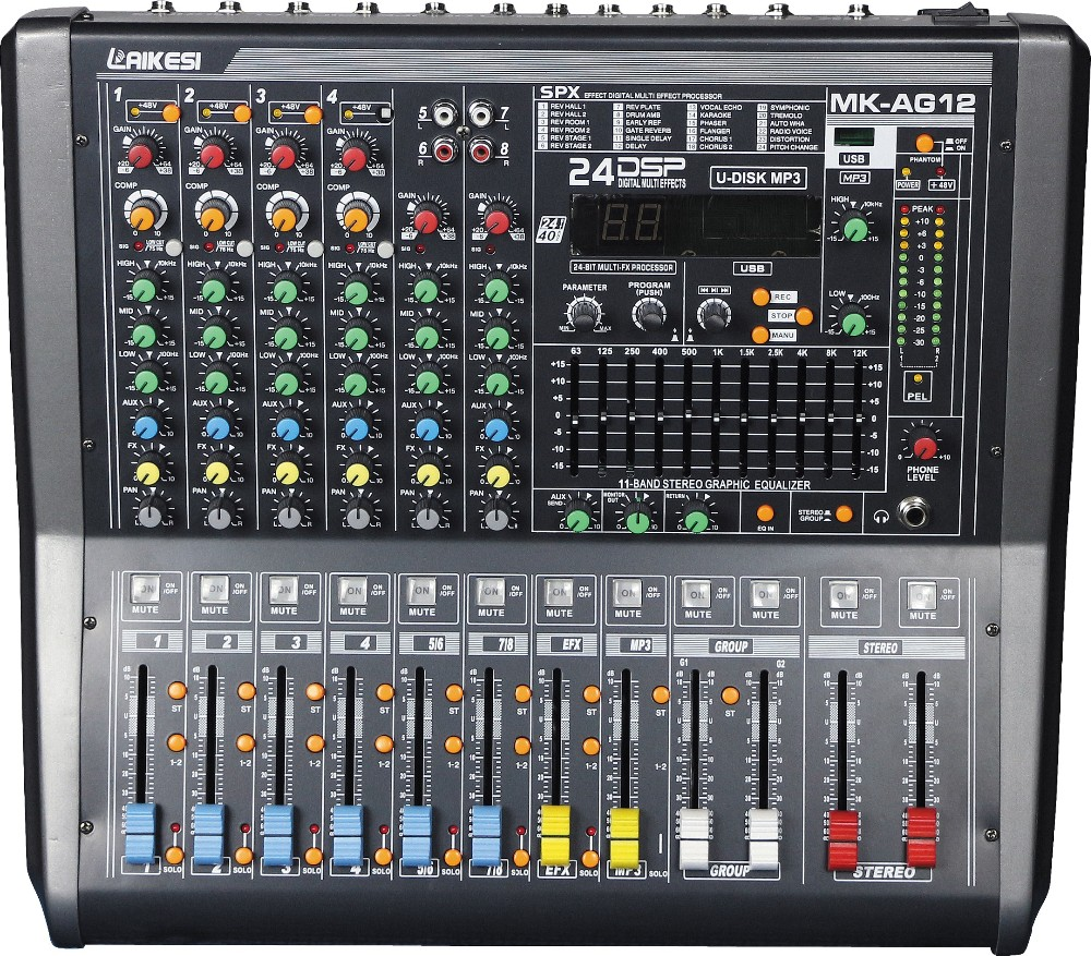 2017 new design mk ag audio mixer with phantom power 24dsp group usb buy audio mixer with. Black Bedroom Furniture Sets. Home Design Ideas
