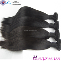 Thick Hair Wholesale Price 100% Human Hair Large Stock Indian Remy Hair Silky Straight 16 Sale