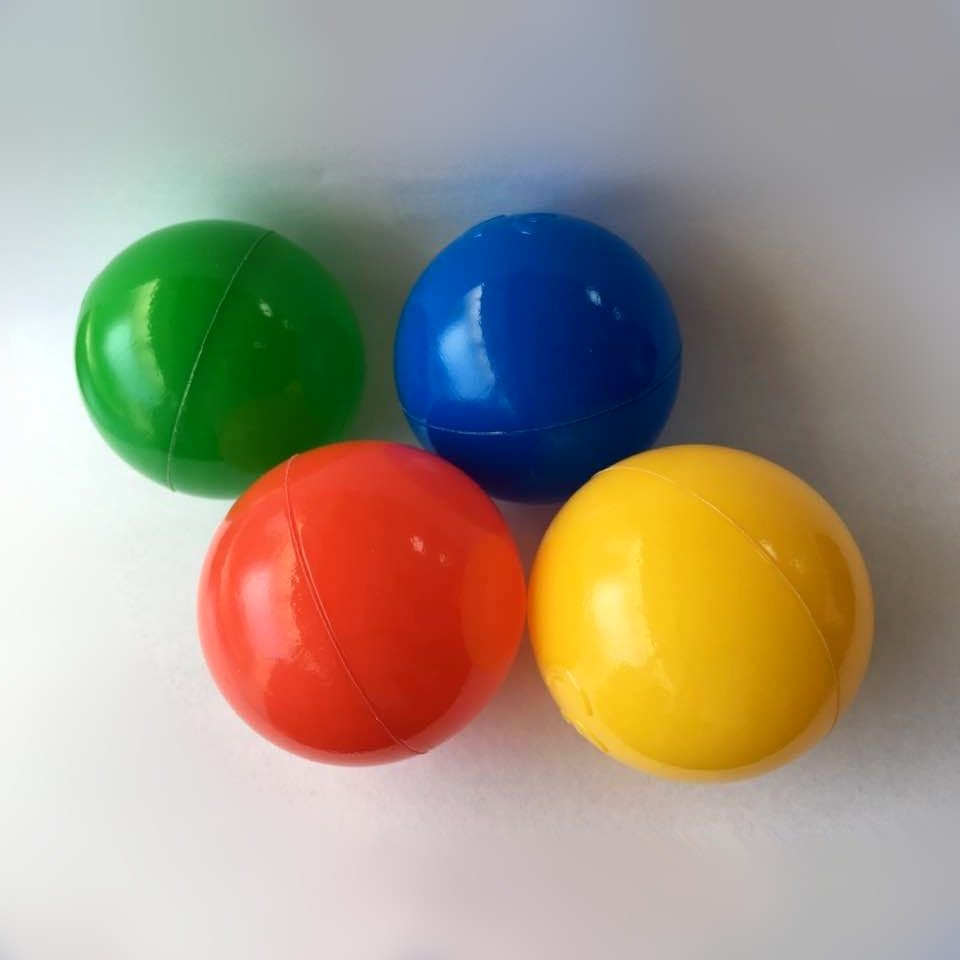 Plastic Toy Balls : Colored plastic balls for ball pit soft from