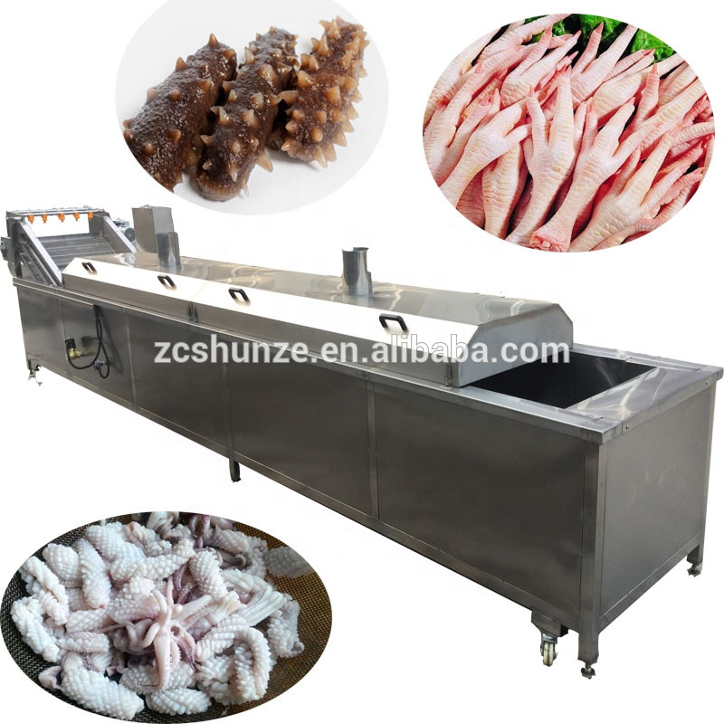 Automatic Poultry <strong>Chicken</strong> Feet <strong>Processing</strong> Machine Peeling Machine Direct sale by manufacturer