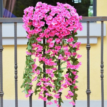 Wholesale High Quantity House Wall Decoration Rose Red Plastic ...