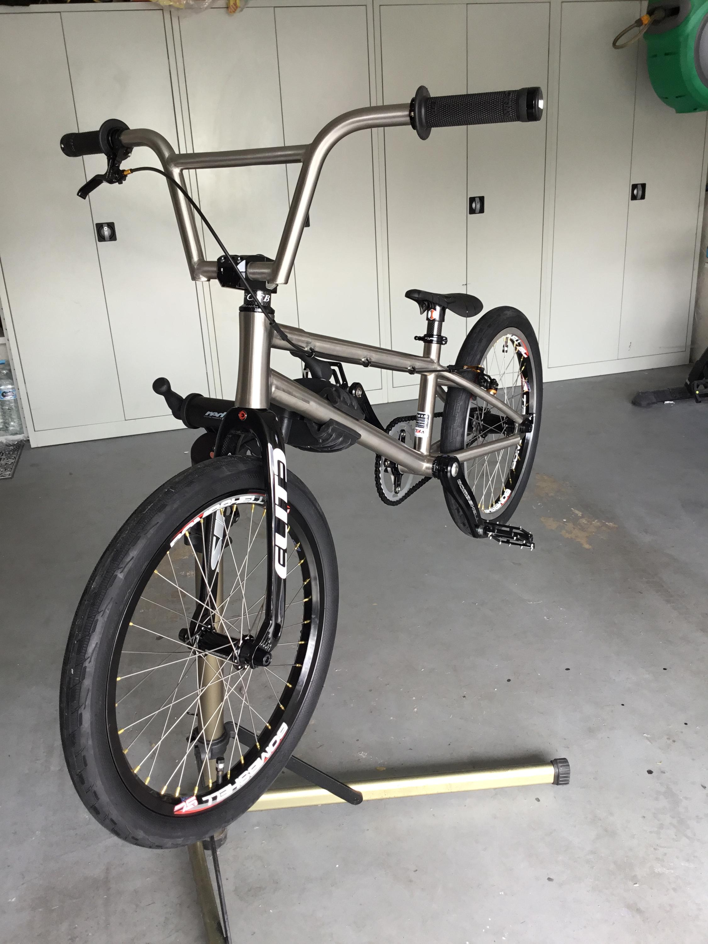 Titanium Bmx Bike Frame With Integrated Head Tube Ti Bmx Bicycle ...