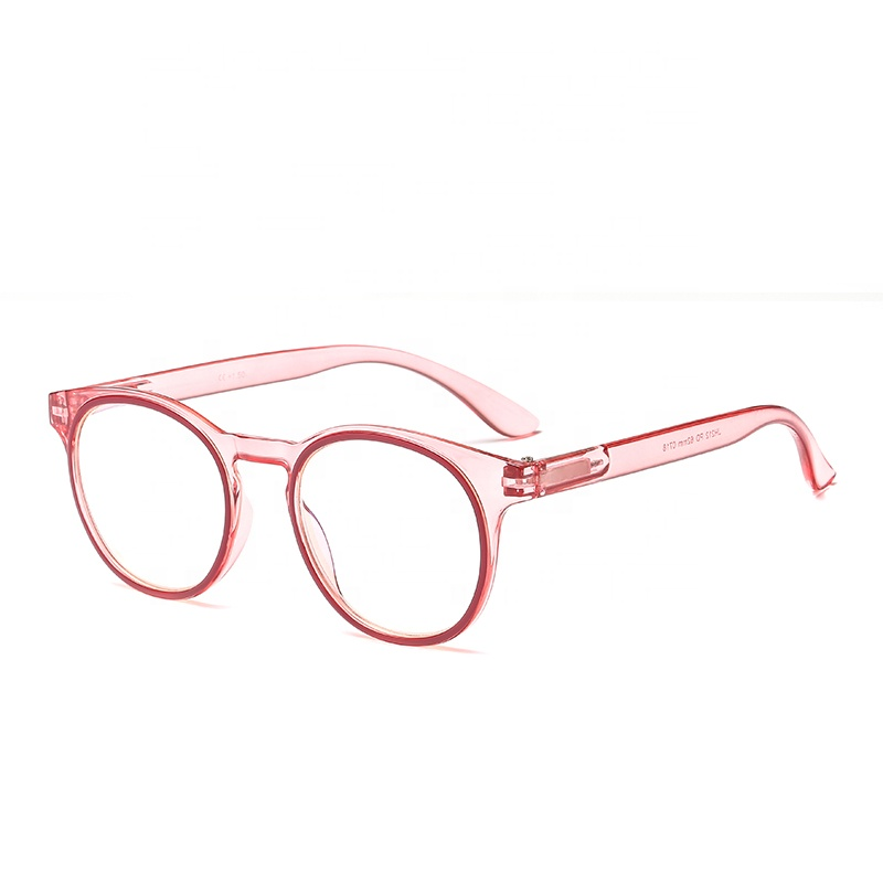 JHEYEWEAR Top Selling Blue Ray Blocking Pink Computer Gaming Glasses Anti Blue Light Reading Glasses Women