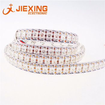 WS2812B RGB LED Strip 5V 5050 144 LED White PCB Waterproof IP65