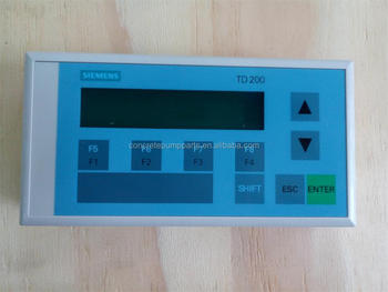 Siemens td200 text display for construction machinery buy sany siemens td200 text display for construction machinery sciox Image collections