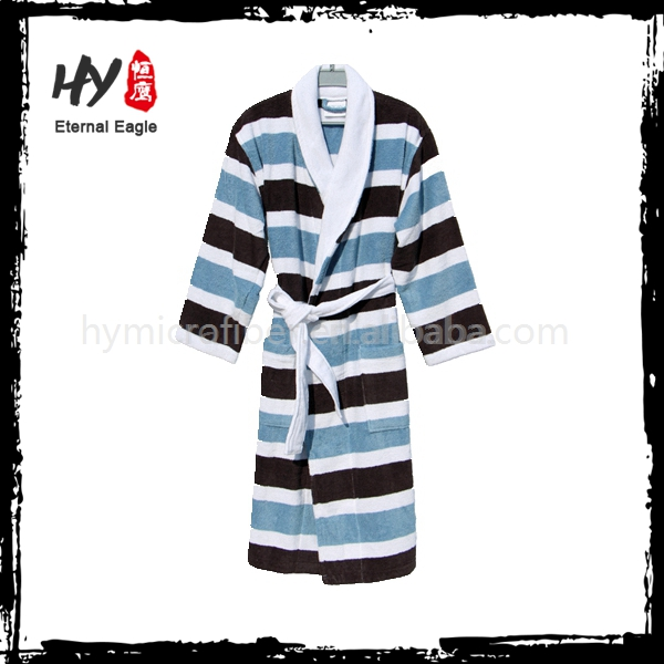 Eco-friendly delicates hotel bath robe with CE certificate