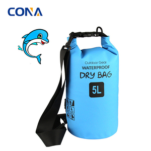 Blue Color Thick Strap Shoulder Ocean Pack Dry Bag for Swimsuit with Good Quality