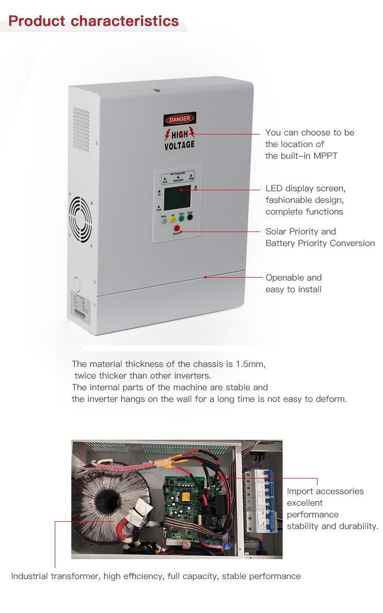 Smart 1000 Watt Power Inverter Circuit Diagram With Solar High Efficiency  Inverter - Buy High Efficiency Inverter,Smart Solar Inverter,1000 Watt  Power