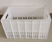 High quality Custom Injection mold plastic milk crate