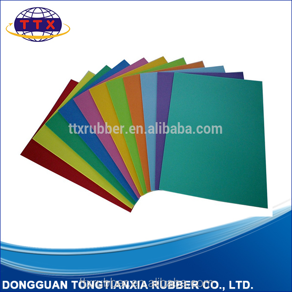 Customized OEM SBR neoprene diving raw material factory