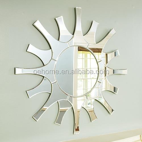 espejos en forma de sol