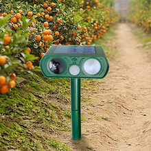 Bateria Solar Powered Ultrasonic Pest Repeller do Macaco