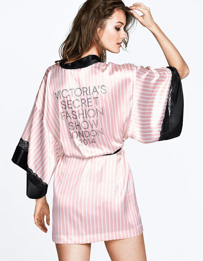 d2958c1c14 Get Quotations · Red rose pink silk striped women s pajamas sexy nightgown  VS fashion long Sleepwear For Women Night