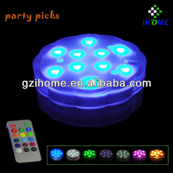 Color Changing Submersible Led Lights/remote Controlled ...