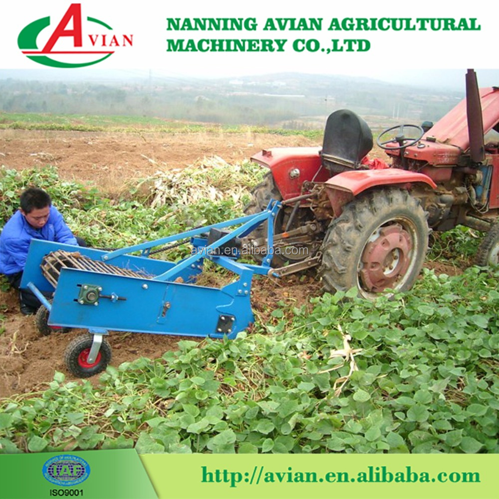 Small Agriculture Machine One-Row Potato Digger For Sale
