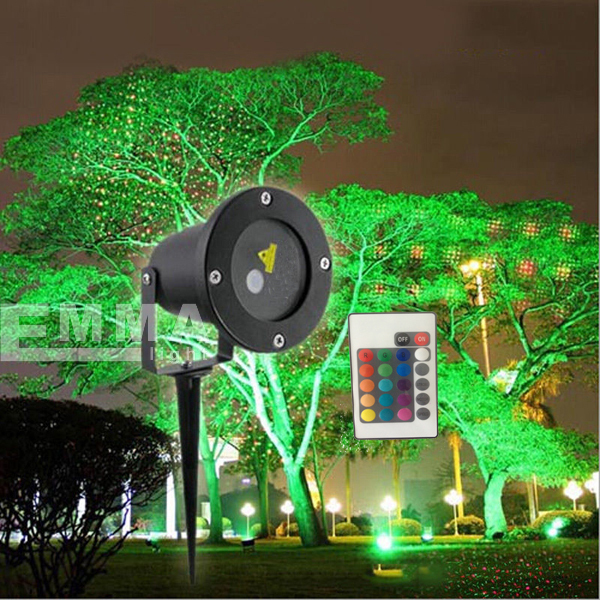 Red And Blue Dynamicwaterproof Laser Light/outdoor Garden Laser ...
