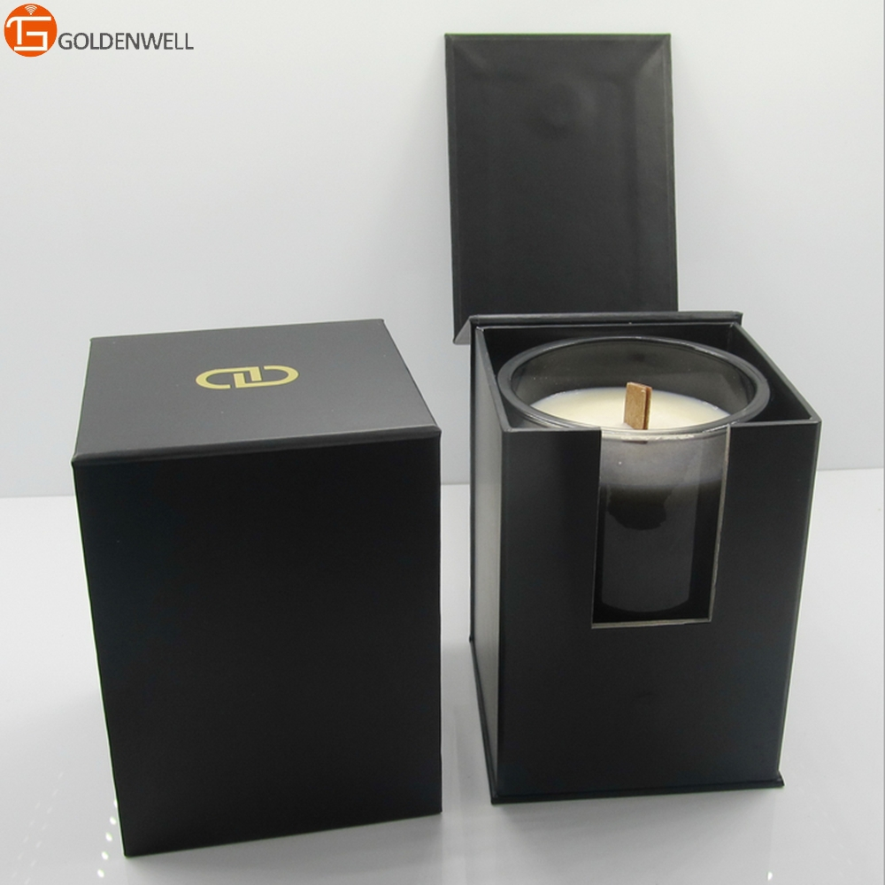 Luxury Woodwick Candles In Glass Cup With Gift Box Buy