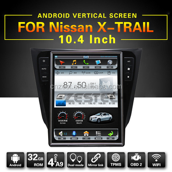 Latest Android Car Screen For Nissan X Trail Qashiqai Radio Stereo System  With Wifi Bt Swc Ac Control Auto Gps Player - Buy Android Car Screen For X