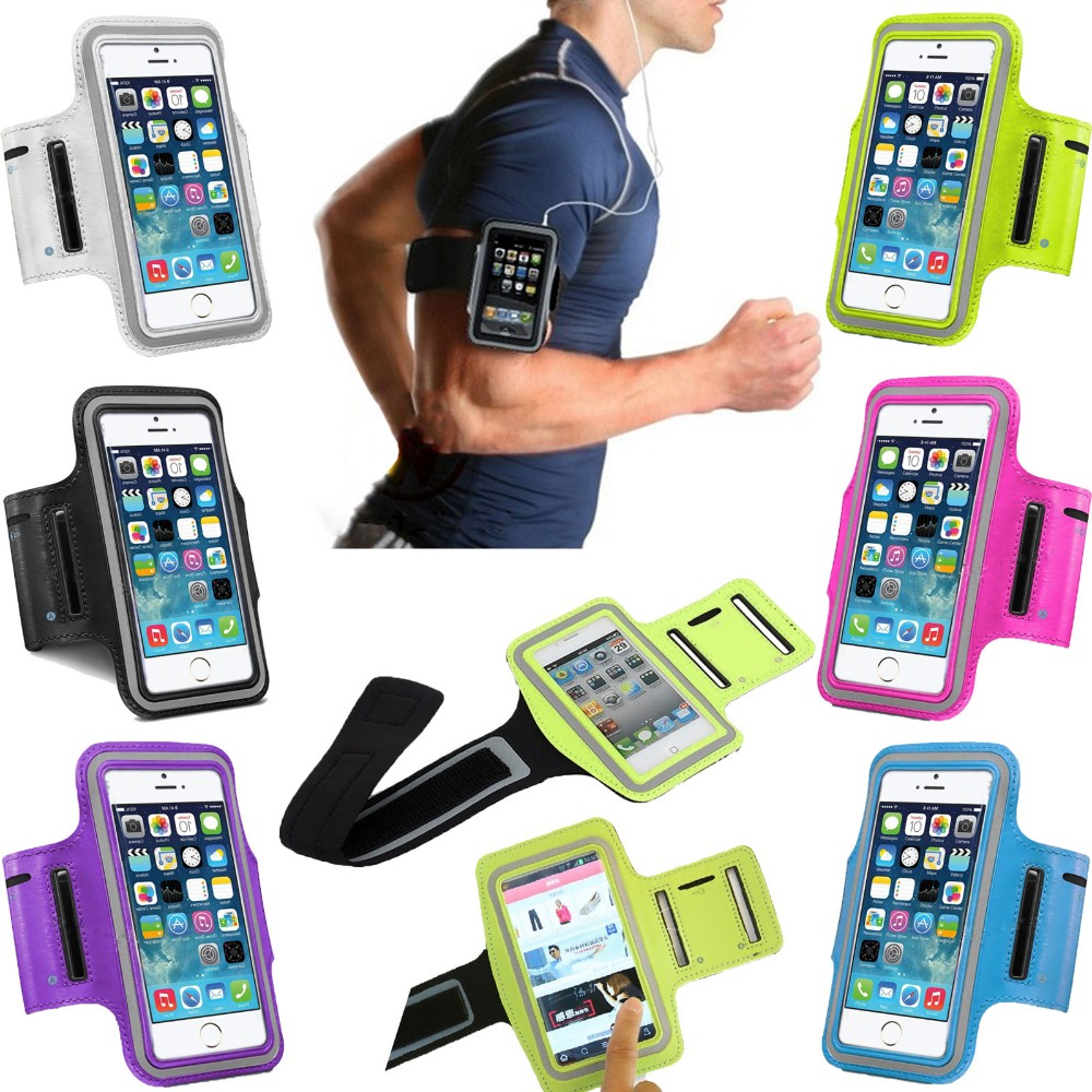 Armband For Iphone X 8 7 6 6s Sports Running Arm Band Cell Phone Holder Pouch Case For Apple Iphone 6 7 8 Plus Cover Phone Cases Mobile Phone Accessories