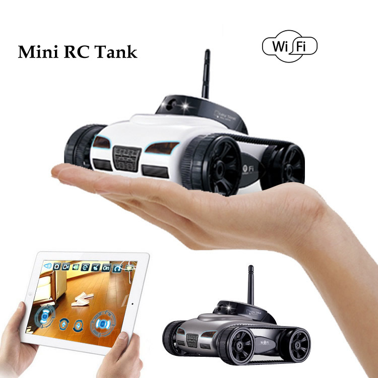 Free Shipping Rover App Controlled Wireless 4ch I Spy Tank With