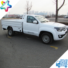 4x2 single cab pickup truck chassis for refrigerated pickup truck 1.5 ton mini chinese pickup trucks