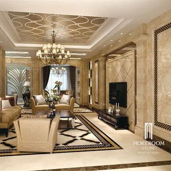 Italian Marble Flooring Border Designs