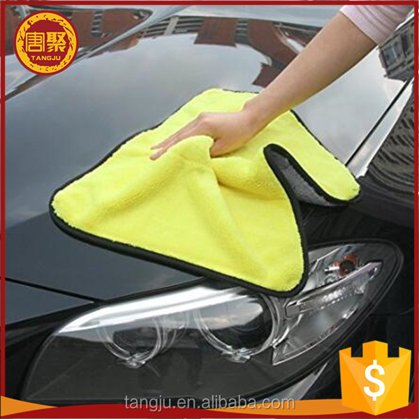 OEM bulk microfiber cloth cleaning/nano fiber cloth Long Pile Soft Microfiber Car Cleaning