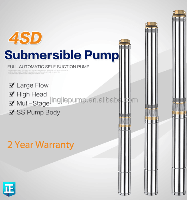 05hp 0.75hp 1.0hp submersible pump
