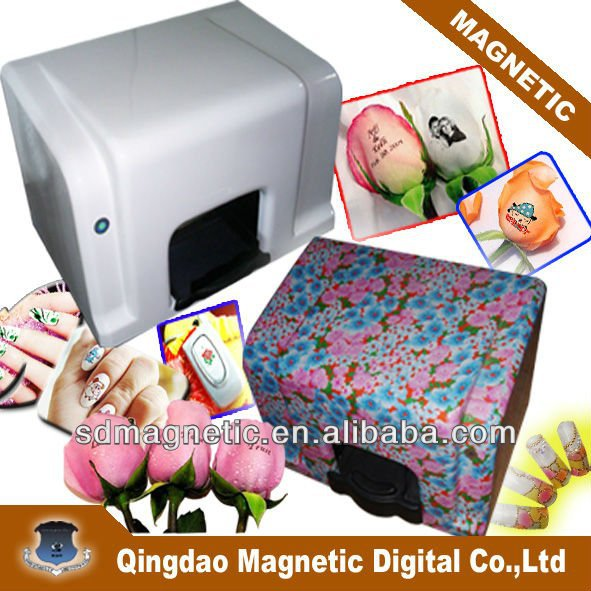 salon beauty nail printer/speaking rose printer