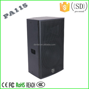 15 inch speaker sound box for disco sound system pro audio speaker PA115