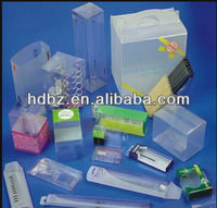 decorative clear plastic cube gift boxes
