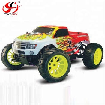 Hsp Tyrannosaurus 4x4 1 10 Scale Nitro Rc Car Monster Truck View Nitro Rc Car Hsp Product Details From Shenzhen Toysky Trading Firm On Alibaba Com