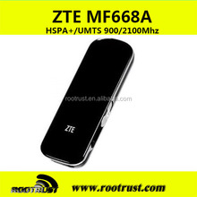 3g USB stick Modem 21Mbps 850MHZ/1900MHZ/2100MHZ dongle ZTE MF668