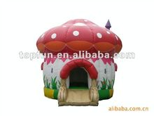 inflatable baby bouncer/ mushroom bouncer