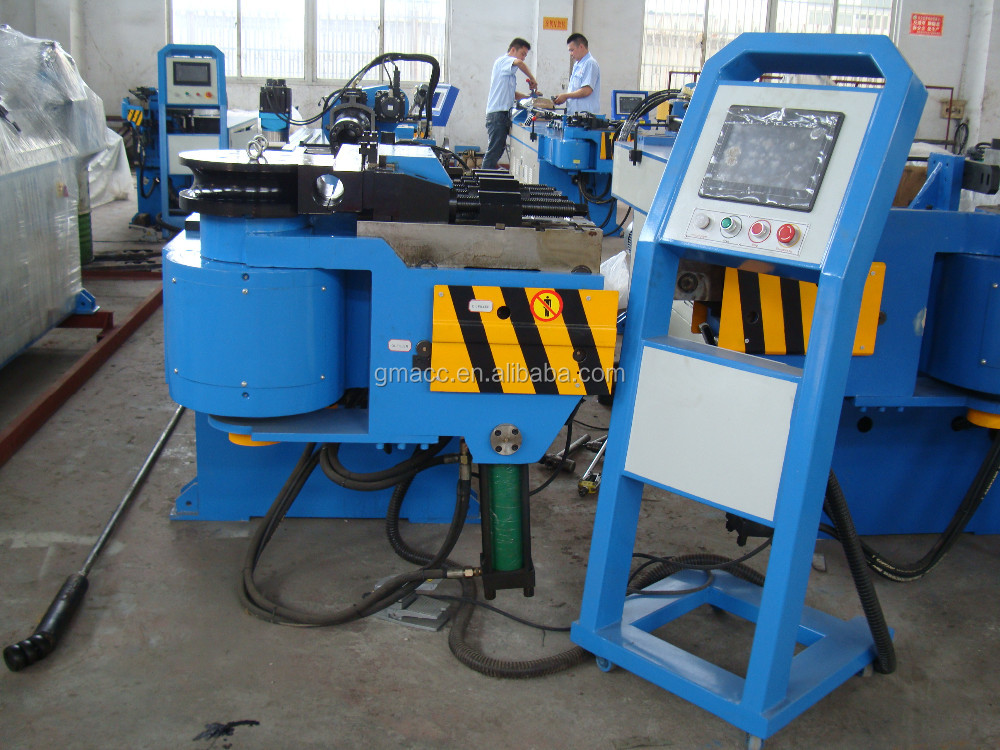 big pipe bending machine for wheelbarrow and exhaust GM-SB-76CNC-2A-1S