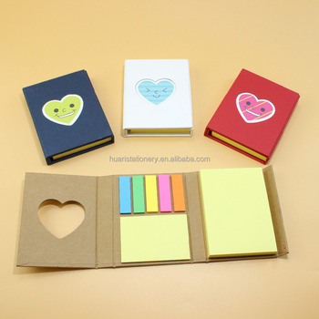 wholesale sticky notes in different cover shapes creative sticky