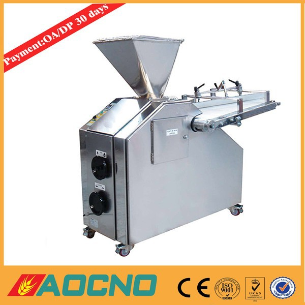AOCNO Bakery machine continuous dough divider and rounder bakery dough divider & rounder