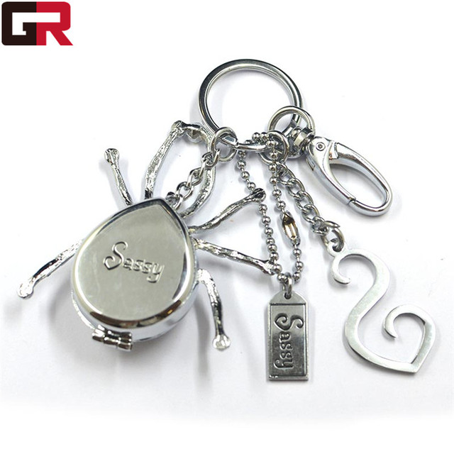 2017 Promotion metal keychain gift craft