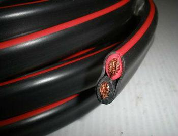 30m Roll Twin Core Wire 6mm Battery Cable Automotive 4x4 Dual 12v ...