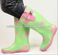 Kids/Girls/women Clear Fancy Rubber Rain Boots