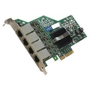 """Addon Ibm 90Y9352 Compatible Ethernet Nic W/4 Port 1Gbase-T Pcie X4 - Pci Express X4 - 4 Port(S) - 4 X Network (Rj-45) - Twisted Pair """"Product Category: Network & Communication/Network Interface Cards"""""""