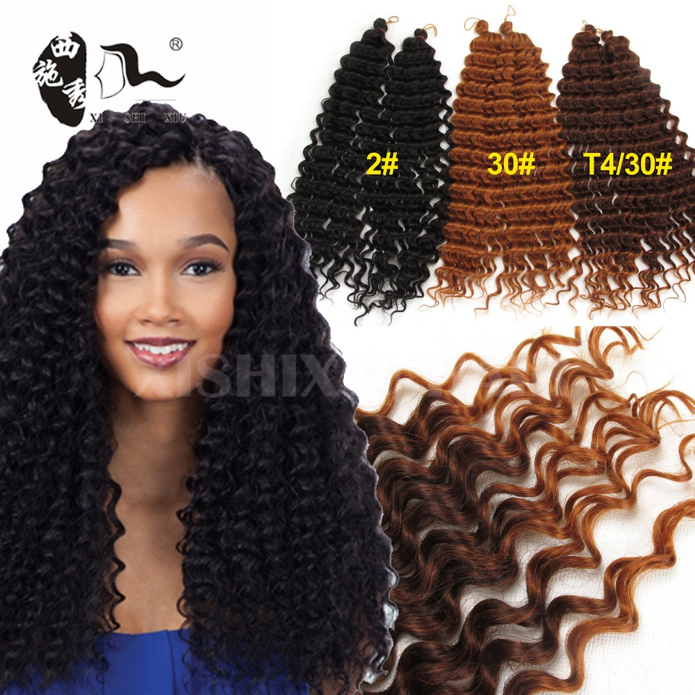 Crochet Freetress Deep Twist Braiding Hair Crochet Hair Bundles